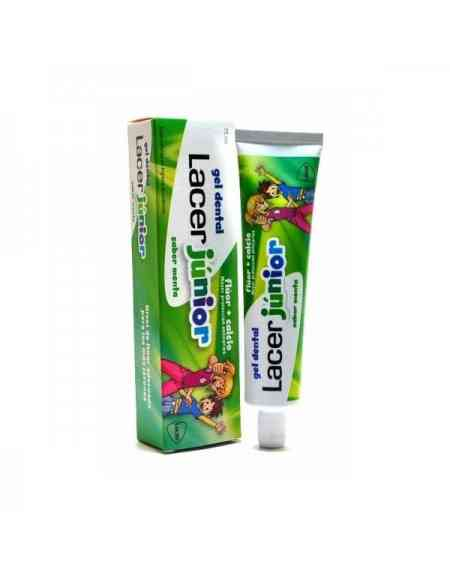 LACER JUNIOR GEL DENTAL MENTA 75ML