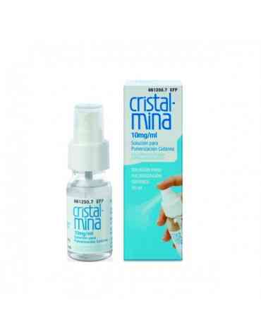 CRISTALMINA 10 MG/ML SOLUCION TOPICA PULVERIZADOR 25 ML