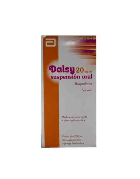 DALSY 20 MG/ML SUSPENSION ORAL 200 ML