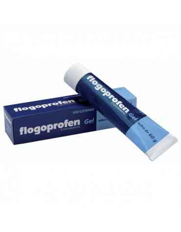 FLOGOPROFEN 50 MG/G GEL TOPICO 60 G