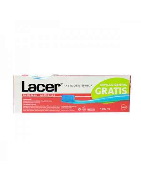 PASTA LACER 125 ML + CEPILLO MEDIUM