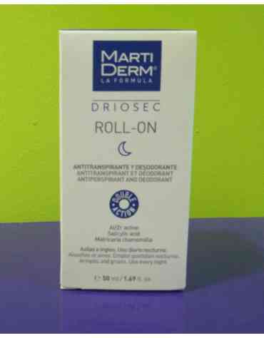 MARTIDERM DRIOSEC INTENSIVE ROLL-ON 50 ML