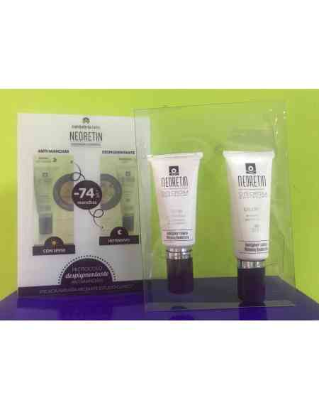 NEORETIN DISCROM PACK GEL-CREAM + SÉRUM PACK