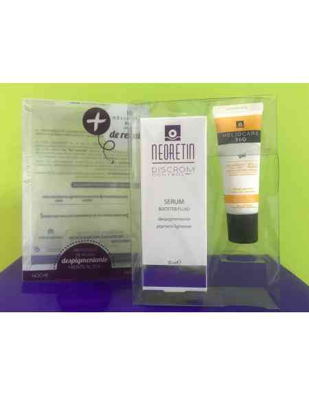 NEORETIN SERUM BOOSTER DESPIGMENTANTE FLUID 30ML CON REGALO DE HELIOCARE 360º GEL 25ML