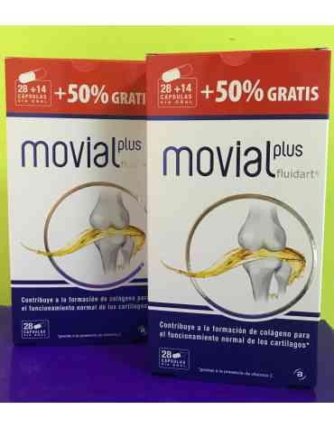 MOVIAL PLUS FLUIDART DUPLO + 28 CAPSULAS REGALO