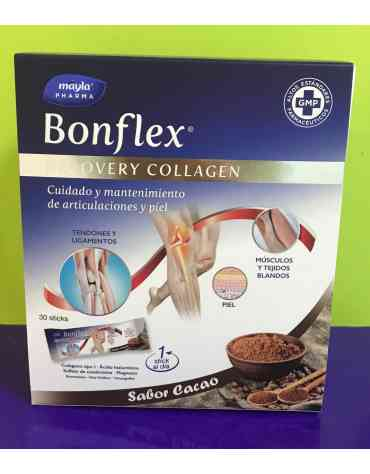 BONFLEX RECOVERY COLLAGEN CACAO 30 STICK