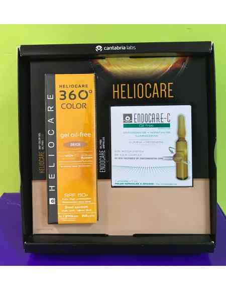 HELIOCARE 360º SPF 50+ COLOR GEL OIL-FREE PROTECTOR SOLAR BEIGE 50 ML