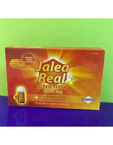 JUANOLA JALEA REAL ENERGY PLUS 14 AMPOLLAS BEBIBLES