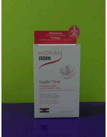 WOMAN ISDIN ISADIN ORAL 15 CAPSULAS