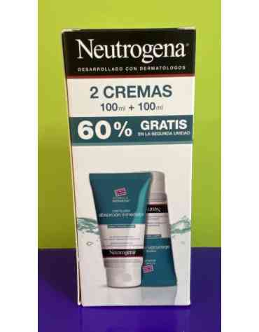 NEUTROGENA PIES CREMA ABSORCION INMEDIATA 100 ML + 100 ML