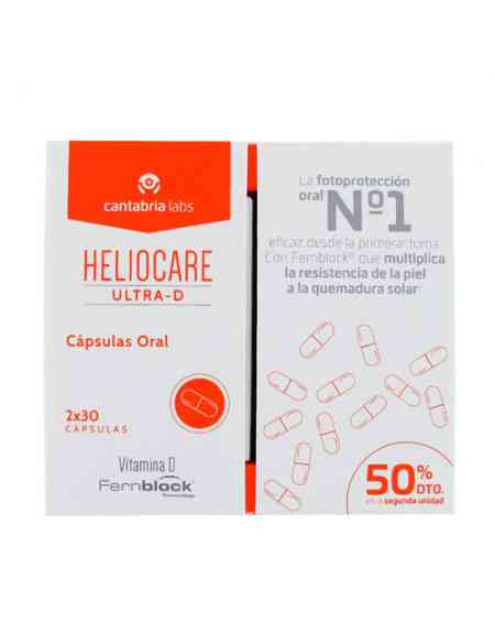 PACK HELIOCARE ULTRA D 2X30 CAPSULAS