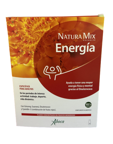 NATURA MIX ADVANCED ENERGIA 10 FRASCOS MONODOSIS