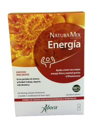 NATURA MIX ADVANCED ENERGIA 20 SOBRES MONODOSIS BUCODISPERSABLES