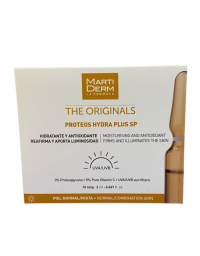 MARTIDERM PROTEOS HYDRA PLUS SP 10 AMPOLLAS 2 ML