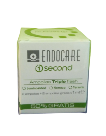 ENDOCARE 1 SECOND TRIPLEFLASH AMPOLLAS 2 AMP 1 ML