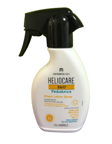 HELIOCARE 360º SPF 50+ PEDIATRICS ATOPIC LOTION PROTECTOR SOLAR SPRAY 250 ML