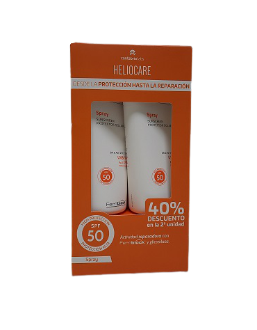 PACK HELIOCARE SPF50 SPRAY 200ML+200ML