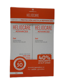 PACK HELIOCARE SPF50 GEL 200ML+200ML