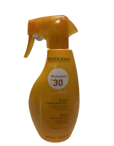 PHOTODERM SPF 30 SPRAY FAMILIAR BIODERMA 1 ENVASE 400 ML