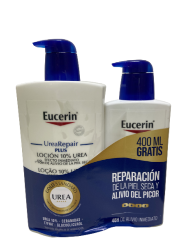 EUCERIN UREA-REPAIR PLUS LOCION 10% 1 ENVASE 1000 ML
