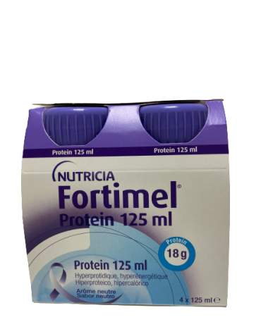 FORTIMEL PROTEIN 4 BOTELLAS 125 ML SABOR NEUTRO