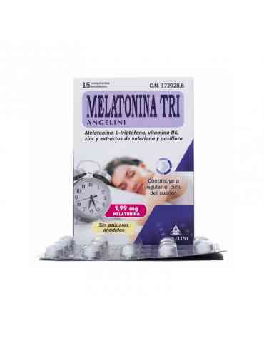 MELATONINA TRI 1,99 MG 60 COMPRIMIDOS