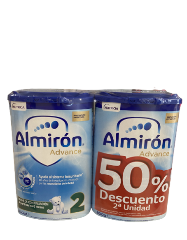 ALMIRON ADVANCE PRONUTRA 2 2 ENVASES 800 G PACK AHORRO