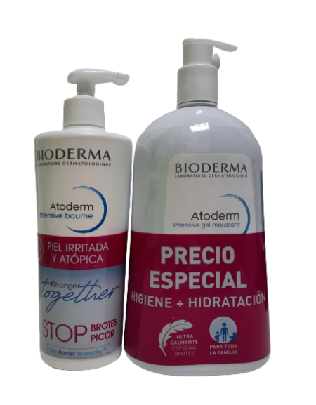 PACK ATODERM INTENSIVE + INTENSIVE GEL MOUSSANT